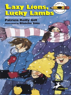 cover image of Lazy Lions, Lucky Lambs