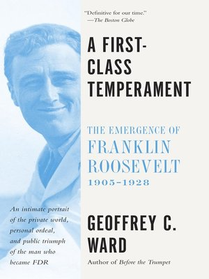 cover image of A First Class Temperament