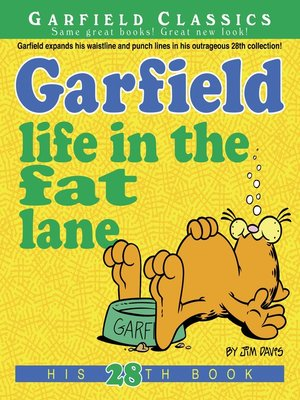 cover image of Garfield Life in the Fat Lane
