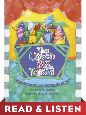 cover image of The Crayon Box That Talked