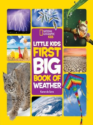 cover image of National Geographic Little Kids First Big Book of Weather