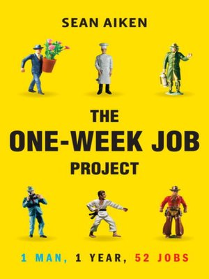 cover image of The One-Week Job Project