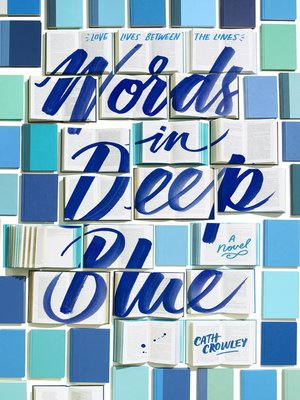 cover image of Words in Deep Blue