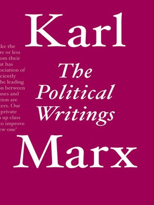 cover image of The Political Writings