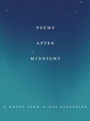 cover image of Poems After Midnight