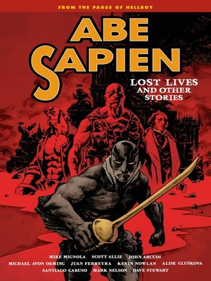 cover image of Abe Sapien (2008), Volume 9