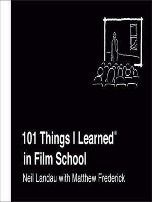 cover image of 101 Things I Learned® in Film School