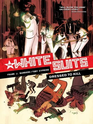 cover image of The White Suits