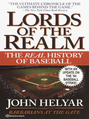 cover image of The Lords of the Realm