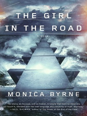 cover image of The Girl in the Road
