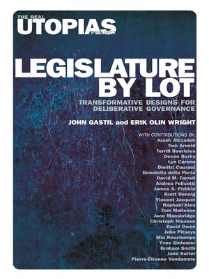 cover image of Legislature by Lot