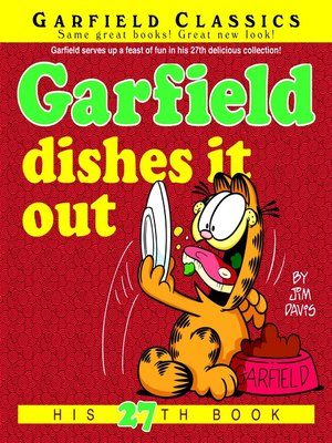 cover image of Garfield Dishes It Out