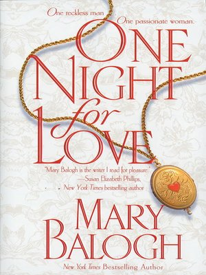 cover image of One Night for Love