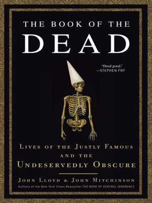 cover image of The Book of the Dead