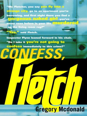 cover image of Confess, Fletch