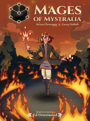 cover image of Mages of Mystralia
