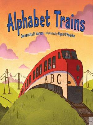 cover image of Alphabet Trains