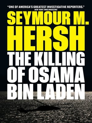 cover image of The Killing of Osama Bin Laden