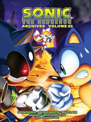 cover image of Sonic the Hedgehog Archives 23
