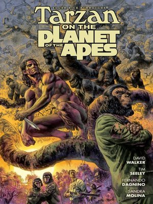 cover image of Tarzan on the Planet of the Apes