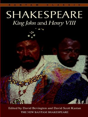 cover image of King John and Henry VIII