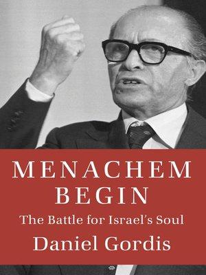 cover image of Menachem Begin