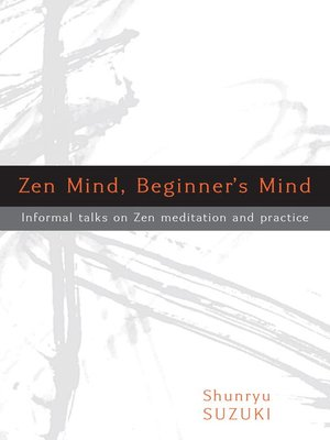 cover image of Zen Mind, Beginner's Mind
