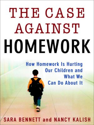 cover image of The Case Against Homework