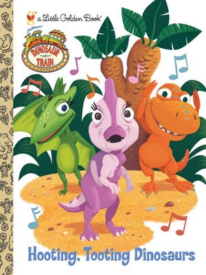 cover image of Hooting, Tooting Dinosaurs