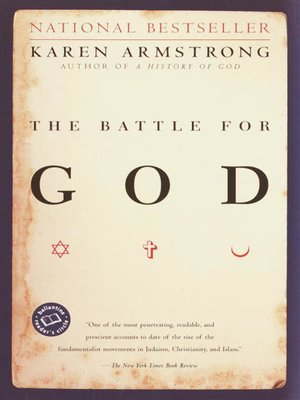 cover image of The Battle for God