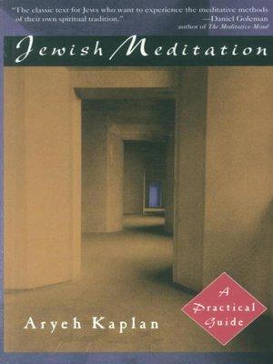 cover image of Jewish Meditation