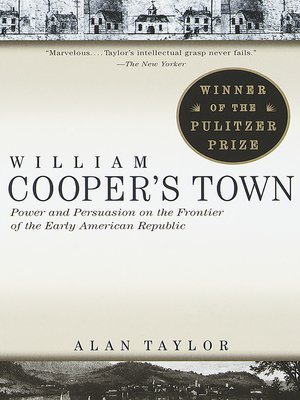 cover image of William Cooper's Town