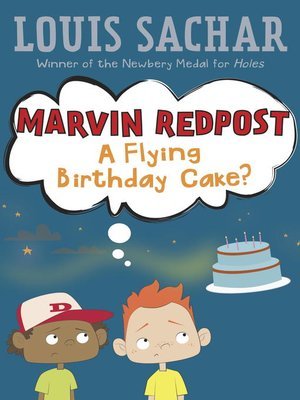 cover image of A Flying Birthday Cake?