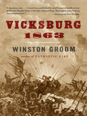 cover image of Vicksburg, 1863