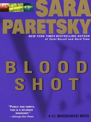 cover image of Blood Shot