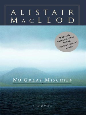 cover image of No Great Mischief