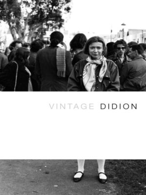 cover image of Vintage Didion