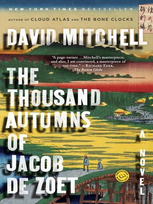 cover image of The Thousand Autumns of Jacob de Zoet