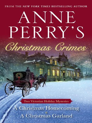 cover image of Anne Perry's Christmas Crimes