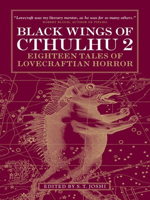 cover image of Black Wings of Cthulhu, Volume Two