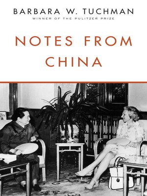 cover image of Notes from China