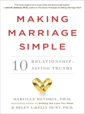 cover image of Making Marriage Simple