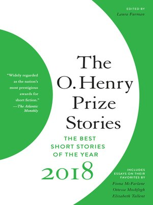 cover image of The O. Henry Prize Stories 2018
