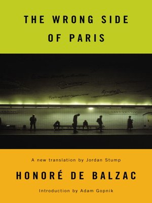 cover image of The Wrong Side of Paris