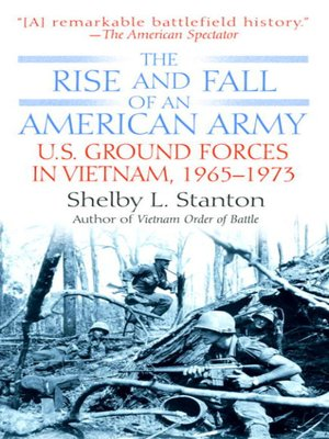 cover image of The Rise and Fall of an American Army