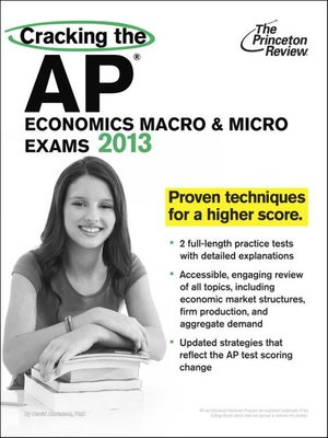 Cracking the AP Economics Macro & Micro Exams by Princeton Review