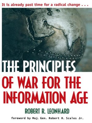 cover image of The Principles of War for the Information Age