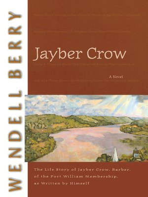 cover image of Jayber Crow