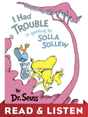 cover image of I Had Trouble in Getting to Solla Sollew