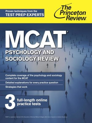 Get everything you need to conquer the MCAT with this complete boxed set of The Princeton Review's 7 MCAT Subject Review books + access to 3 full-length practice tests.